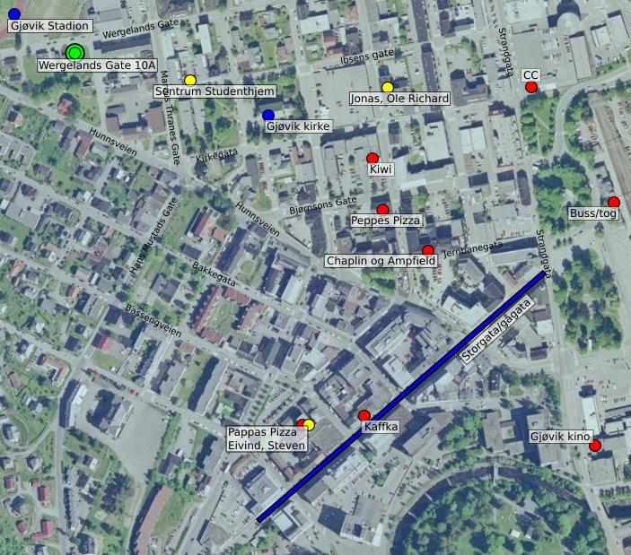 kart gjøvik sentrum Einars blogg – Side 15 – Si non confectus, non reficiat kart gjøvik sentrum